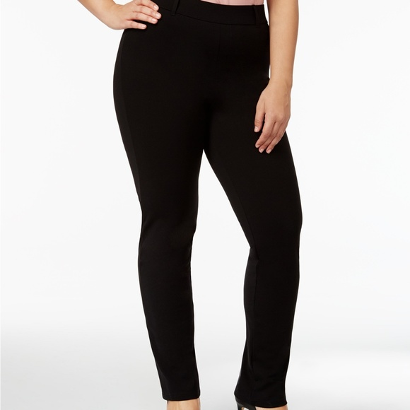 9227c8c5e557e2 HUE Pants | Womens Plus Size Little Black Treggings | Poshmark